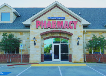 Outside look of Long Prairie Pharmacy