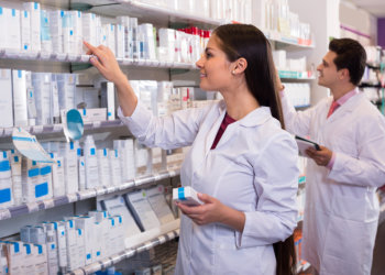 pharmacists looking for a specific medicine